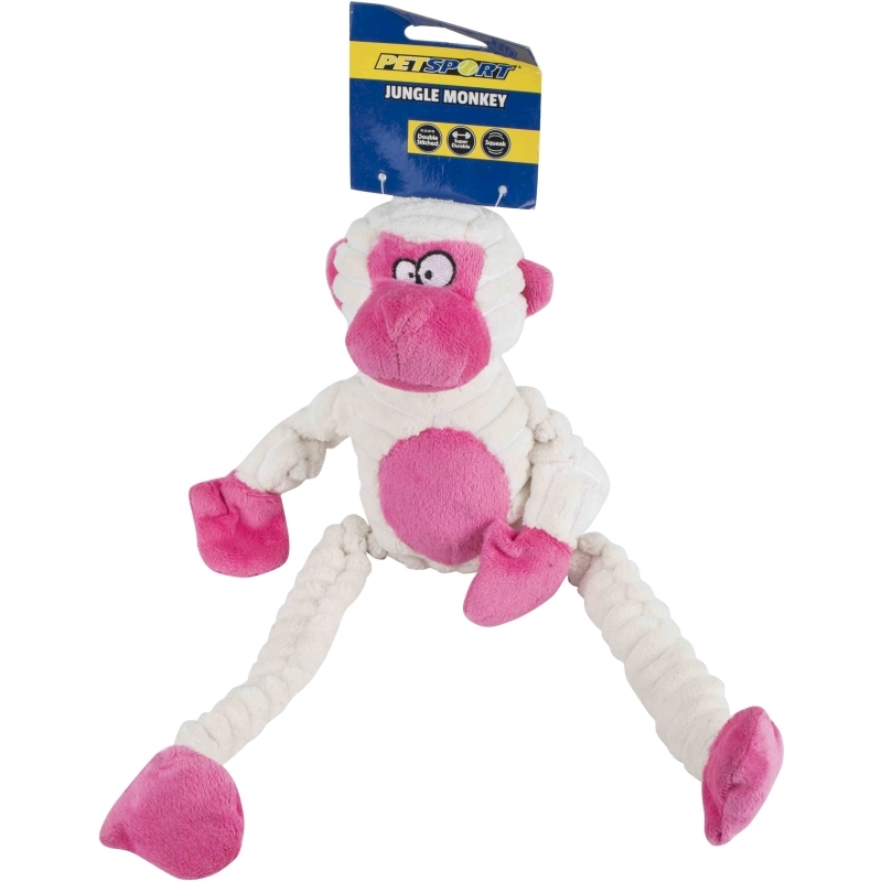 Tuff Squeaks Jungle Monkey Double Stitched