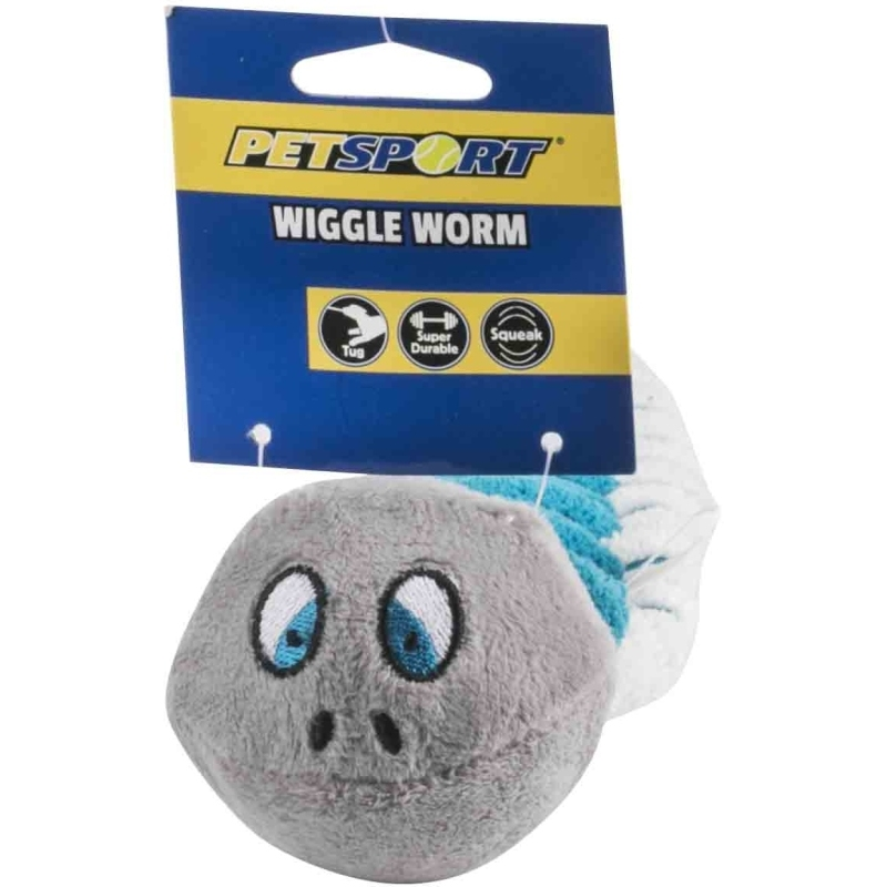 Tuff Squeaks Wiggle Worm Corduroy Fabric