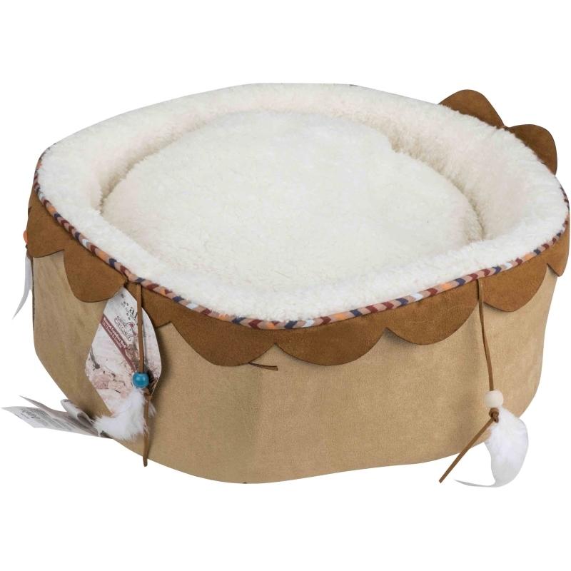 Round Cuddler Bed