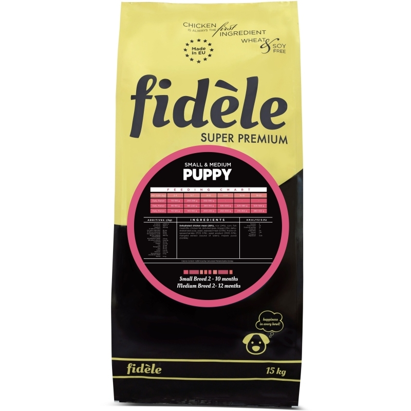 Fidele Small and Medium Puppy