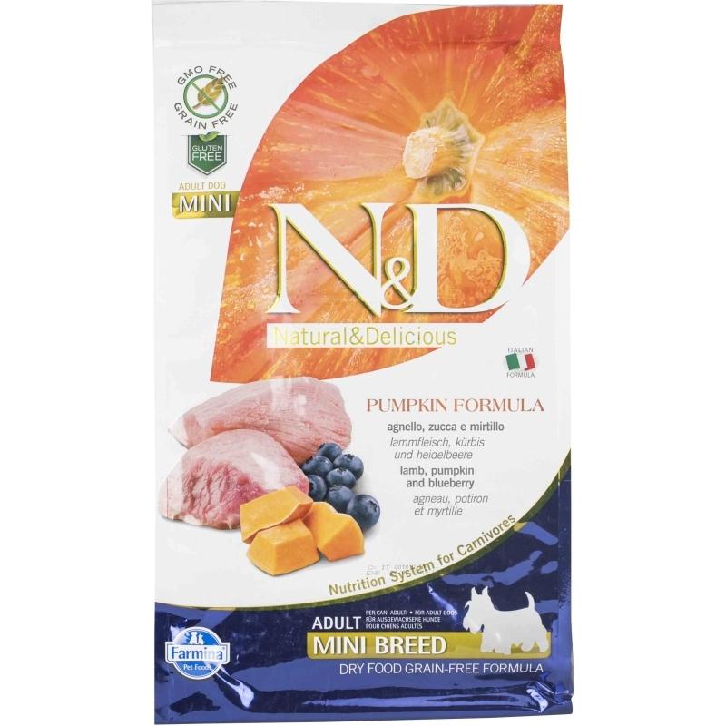 N&D Grain Free Pumpkin Lamb & Blueberry Adult Mini