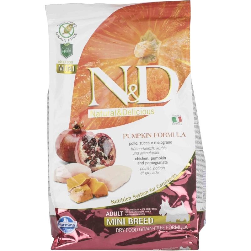 N&D Grain Free Pumpkin Chicken & Pomegranate Adult Mini