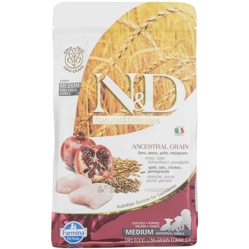 N&D Low Grain Chicken & Pomegranate Puppy Medium
