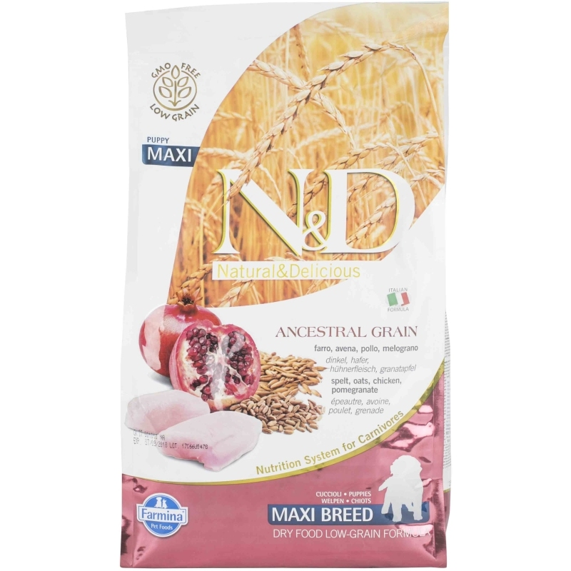 N&D Low Grain Chicken & Pomegranate Puppy Maxi