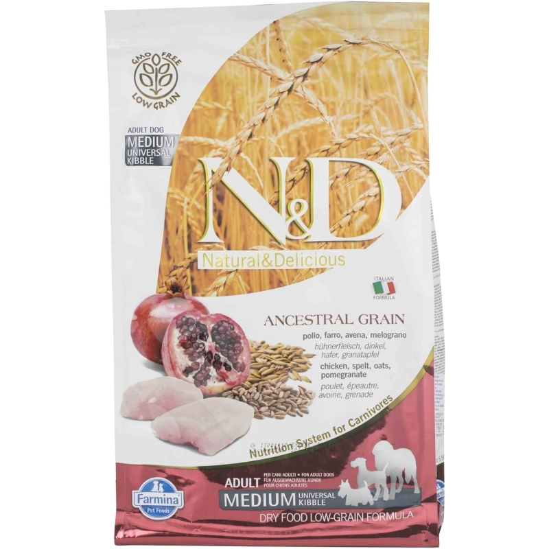 N&D Low Grain Chicken & Pomegranate Adult Medium