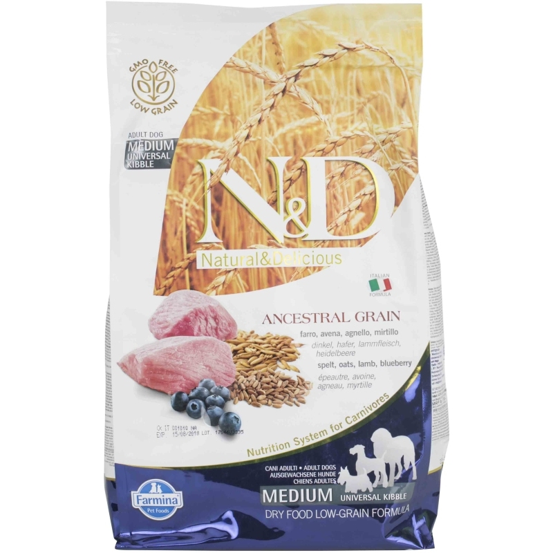 N&D Low Grain Lamb & Blueberry Adult