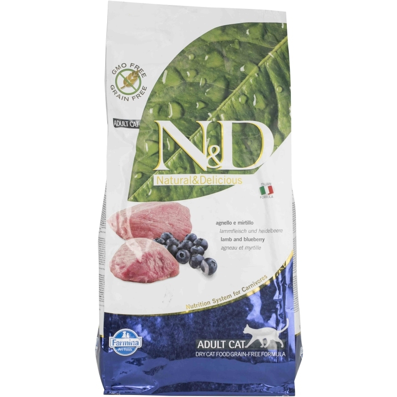 N&D Grain Free Lamb & Blueberry Adult Cat