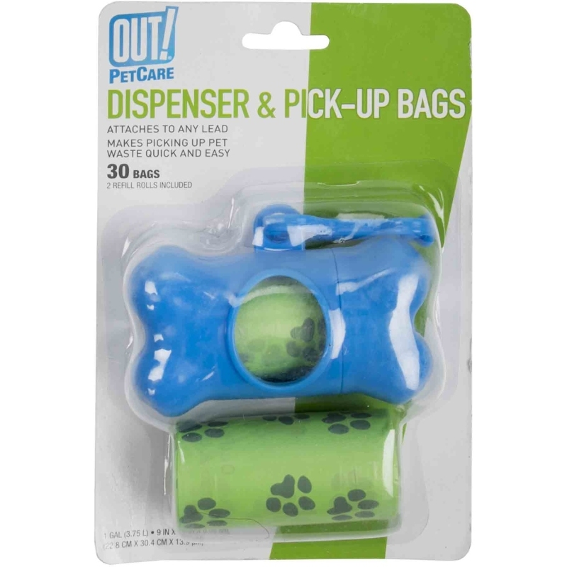 Bone Dispenser & Waste Pick-Up Bags