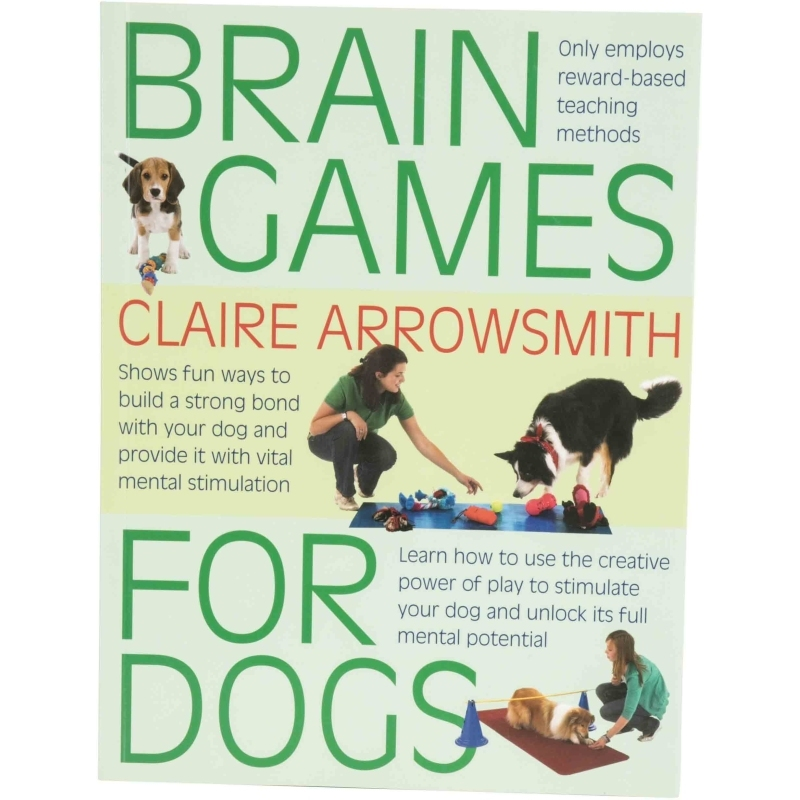 Book on Brain Games for Dogs