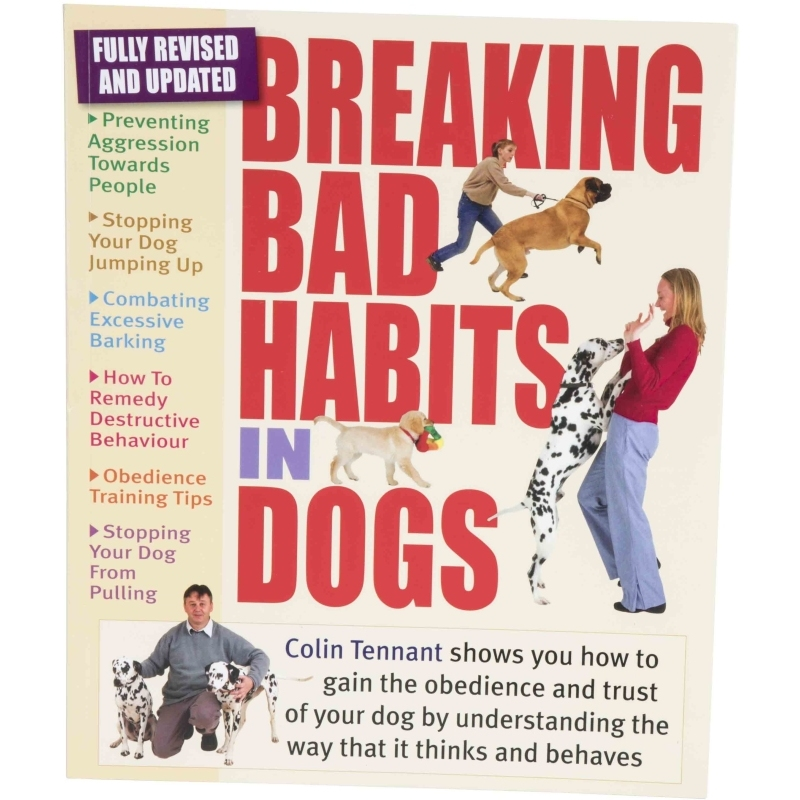 Book on Breaking Bad Habits In Dogs