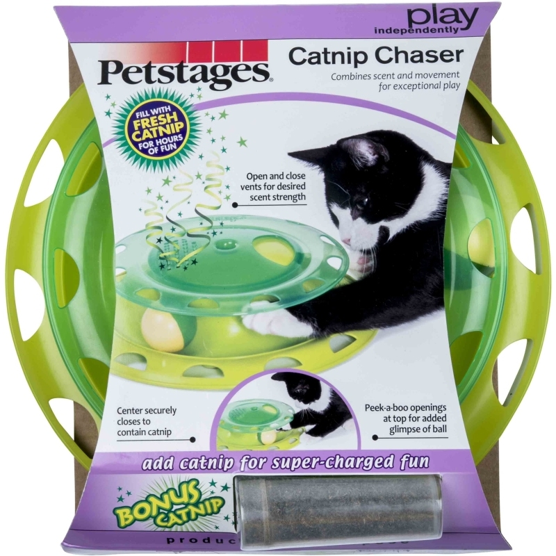 Catnip Chaser, Independent Play Toy