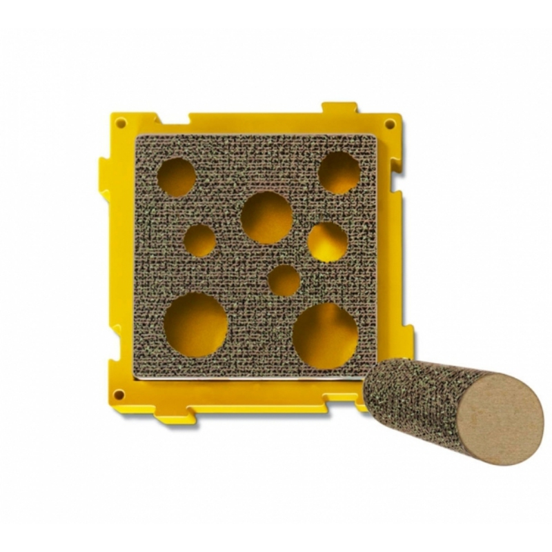 Treat Pockets Scratcher With Post
