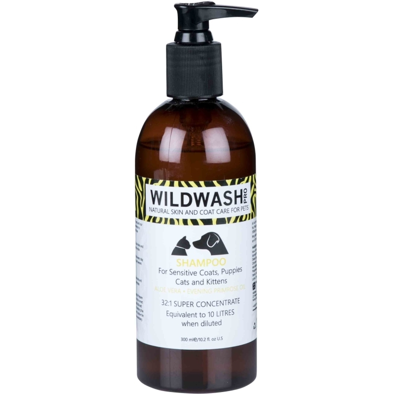 Shampoo for Sensitive Coats, Puppies, Cats Or Kittens