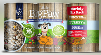 Little Big Paw Gourmet Poultry Mousse Selection
