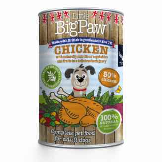Little Big Paw Chicken with Green Beans, Mixed Peppers and Sweet Potato