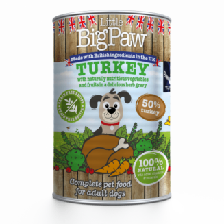 Little Big Paw Turkey with Broccoli, Carrots and Cranberries