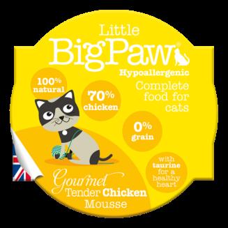 Little Big Paw Gourmet Tender Chicken Mousse