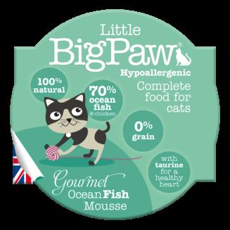 Little Big Paw Gourmet Ocean Fish Mousse