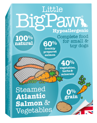 Little Big Paw Steamed Atlantic Salmon & Vegetable Terrine