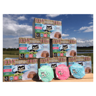 Little BigPaw is a range of wet foods designed specifically for cats with character. We work closely with leading nutritionists to produce foods that are perfect for all cats. Our foods are packed with meat, high in energy, nutrient dense and rich in calories – so a small amount of food packs in a big amount of energy.