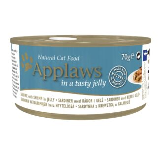 Applaws Cat Tin - Sardine with Shrimp with Taste Jelly