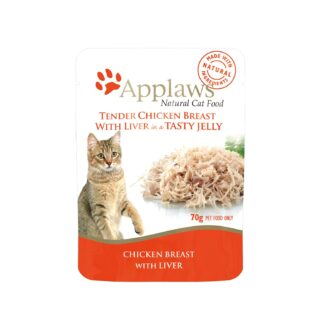 Applaws Cat Pouches - Chicken with Liver in Soft Jelly