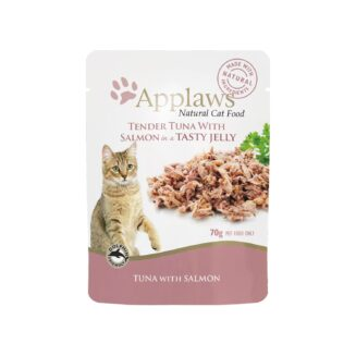 Applaws Cat Pouches - Tuna Whole Meat with Salmon in Soft Jelly