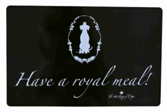 King of Dogs Place Mat Have a Royal Meal!