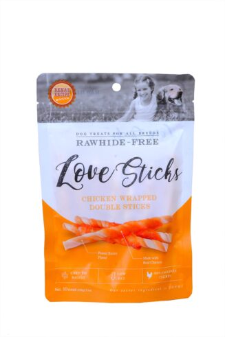 LOVE Sticks - Chicken Wrapped Double Sticks