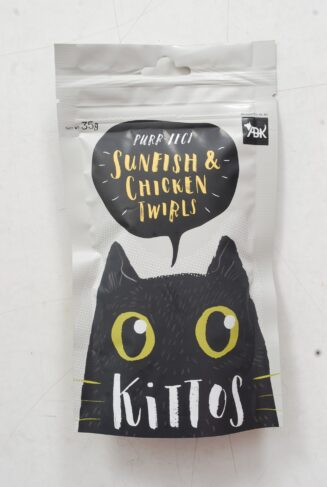 Sunfish and Chicken Twirls Cat Treat