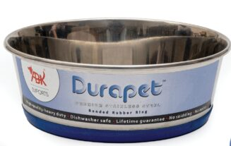 Durapet Bowl with Silicone Bonding at Bottom