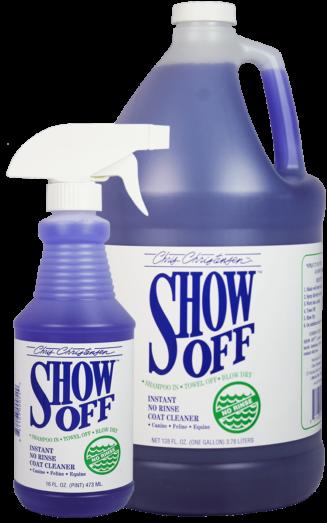 Chirs Christensen Show off Shampoo