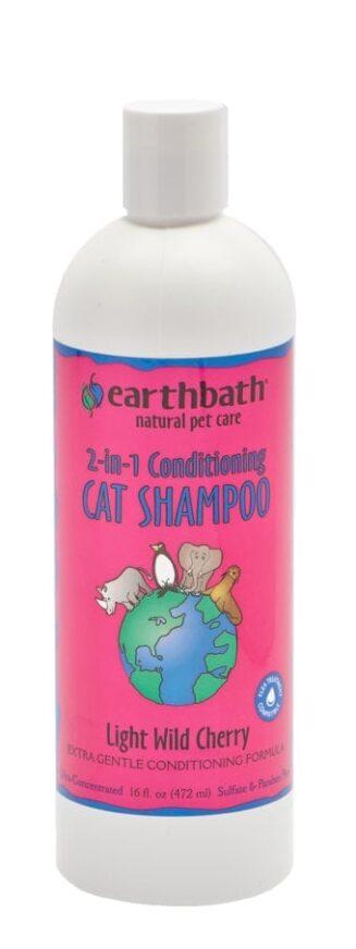 2-in-1 Conditioning Cat Shampoo Light Wild Cherry