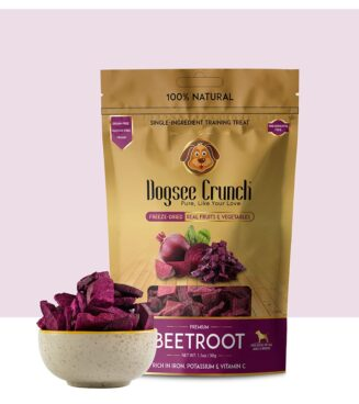 Dogsee Chew-Crunch Beetroot