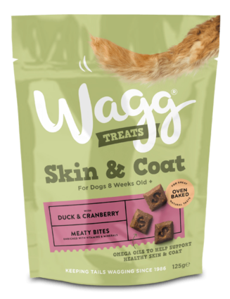 wagg skin coat treats