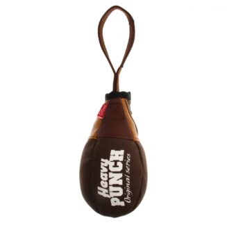 Gigwi Heavy Punch 'Boxing Pear' With Squeaker Canvas / Leatherette / Rubber