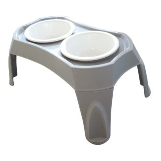 MPets COMBI - Double Bowl Wiith Stand