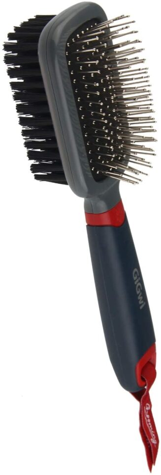 GiGwi Double Sided Brush Nylon Bristles & pins for Dogs and Cats
