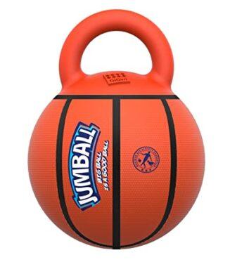 Gigwi Basket Ball with Rubber Handle 'Jumball'