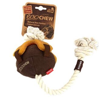 GiGwi ECO Chew - Natural Raw Rubber with Cotton Canvas