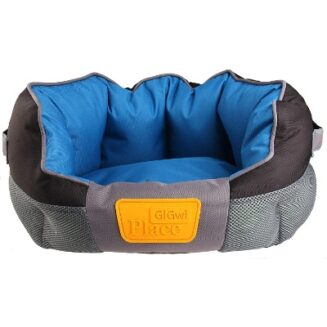 GiGwi Place Soft Bed Canvas,TPR Blue & Black