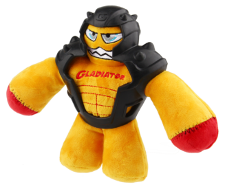 Gigwi 'Gladiator' with squeaker inside