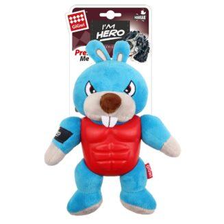 I'm Hero TPR ArmoR Rabbit TPR / Plush with Squeaker