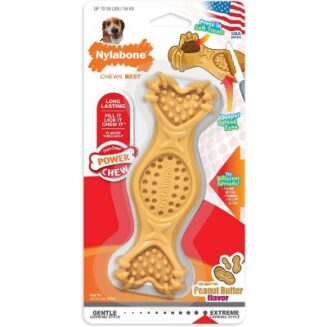Nylabone-Power Chew Fill & Treat Toy - Peanut Butter