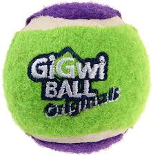 Tennis Ball 'GiGwi Ball Originals' (3pcs with different colour in one pack)