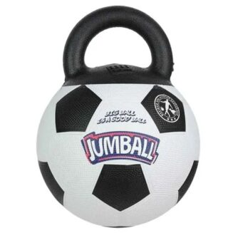 Gigwi Soccer Ball with Rubber Handle 'Jumball'