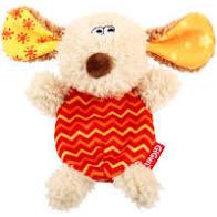 Gigwi Dog 'Plush Friendz' w/Refillable Squeaker