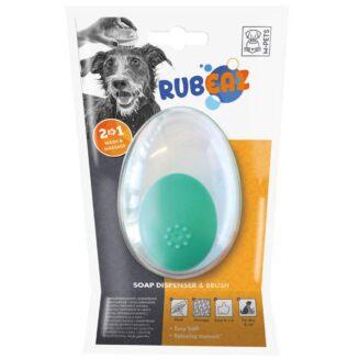 M-Pets Rubeaz Soap Dispenser & Brush