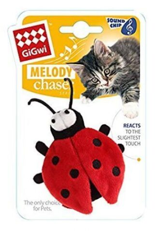 GiGwi Beetle 'Melody Chaser' w/motion-activated sound chip