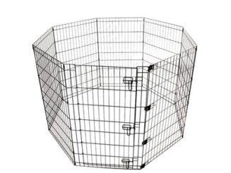 M Pets Foldable Puppy Pen - with DOOR